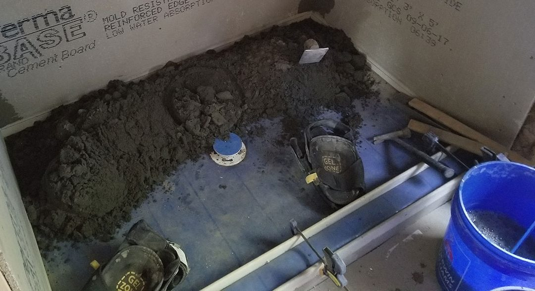 The Importance of Proper Shower Pan Installation