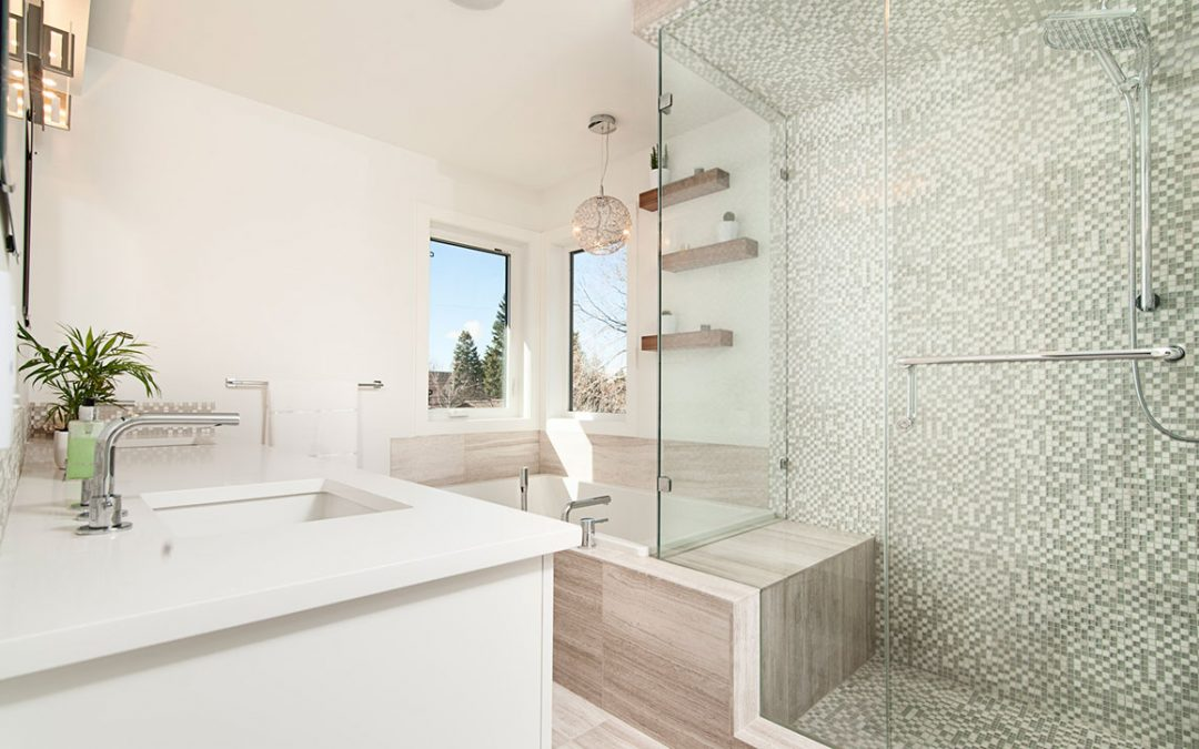 Boring to Beauty: How to Fancy Up Your Tile Shower